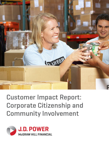 Customer Impact Report: Corporate Citizenship and Community Involvement