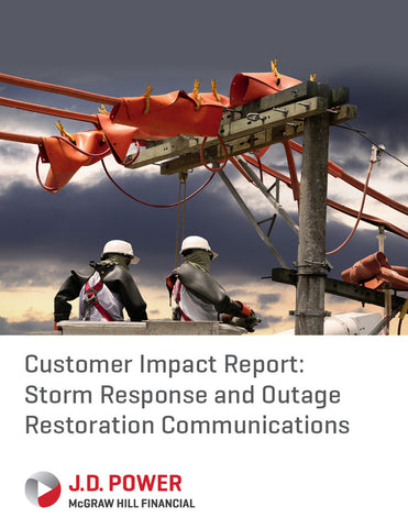 Customer Impact Report: Storm Response and Outage Restoration Communications