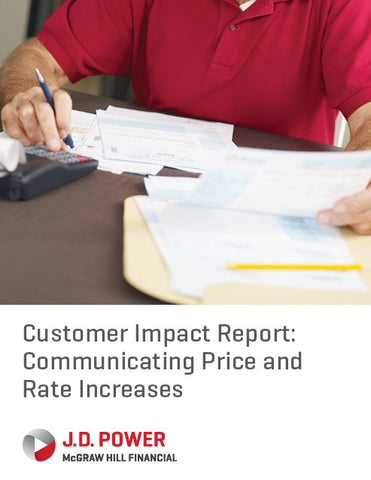 Customer Impact Report: Communicating Price and Rate Increases