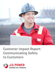 Customer Impact Report: Communicating Safety to Customers