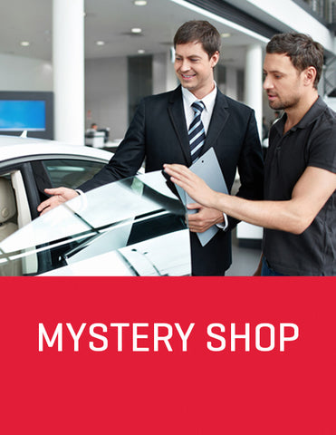 On-site Sales Automotive  Mystery Shop