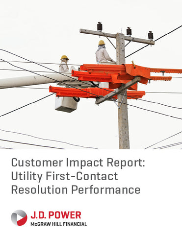 Customer Impact Report: Utility First-Contact Resolution Performance