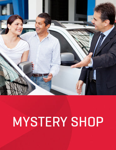 On-site Sales Dealership Video Mystery Shop