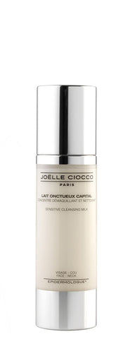Joëlle Ciocco LAIT ONCTUEUX CAPITAL - Sensitive Cleansing Milk - 80ml - TRAVEL SIZE