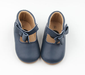 Sweet Mary Janes Amrin Blue - Harper & Hedgie