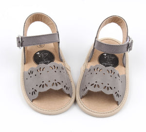 Clara Bea Sandals Pebble Grey - Harper & Hedgie