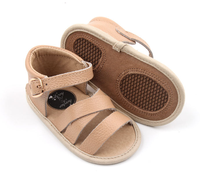 Madison Park Sandals Butterscotch - Harper & Hedgie