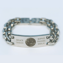 Load image into Gallery viewer, Personalized Link Bracelet