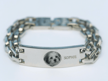 Load image into Gallery viewer, Personalized Pet Link Bracelet