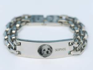 Personalized Pet Link Bracelet