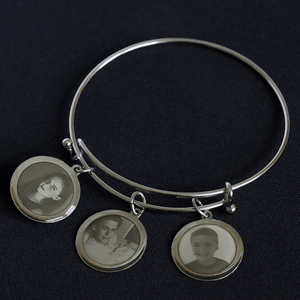 Personalized Grandmother Charm Bracelet
