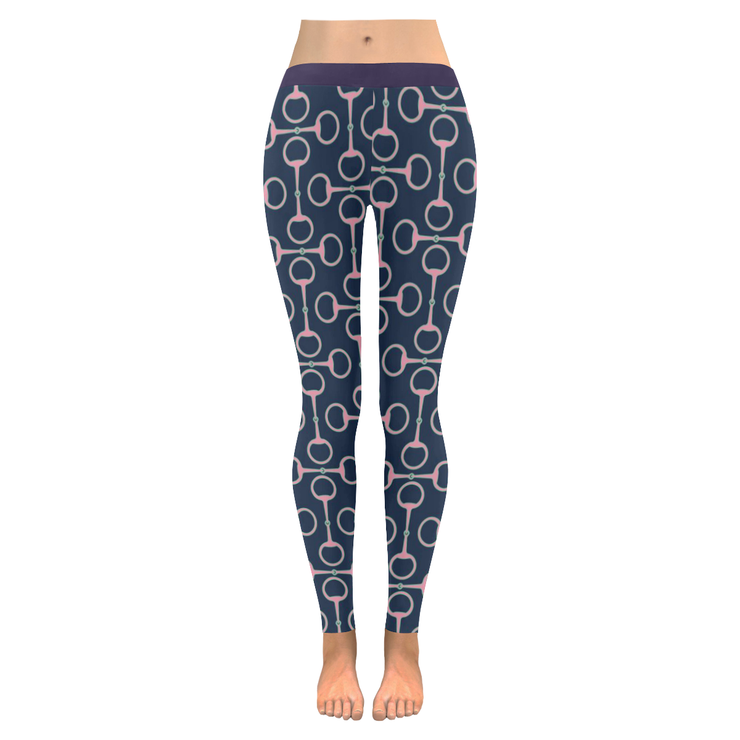Horse bit  Low Rise Leggings