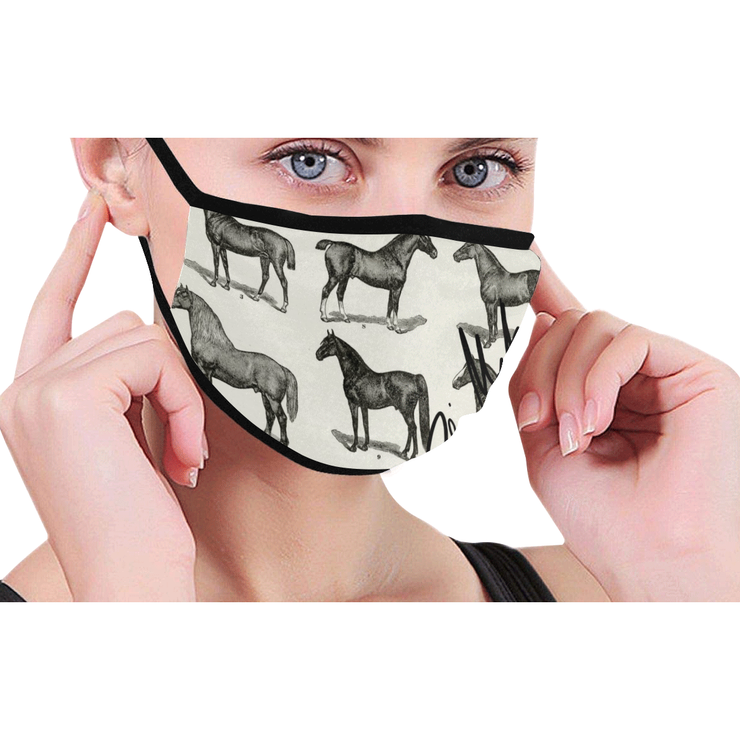Equestrian Face Mask