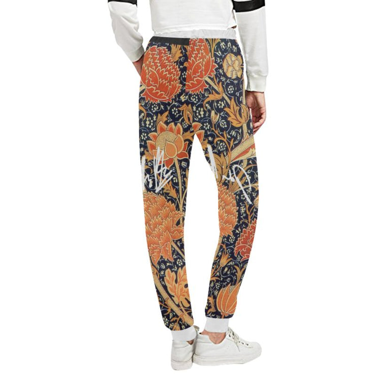 Retro Print Sweatpants- Signed