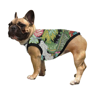Lucky Asian Print Pet/Dog Shirt