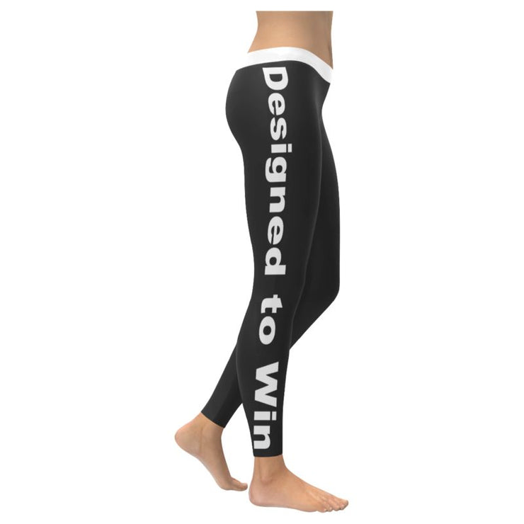 """Designed To Win"" Low Rise Leggings"