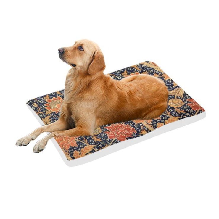 Large Pet Bed- 42 By 26 Inches- Signed