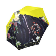 Foldable Purse Umbrella- Vogue Print