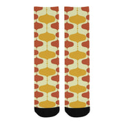 Retro Print Socks