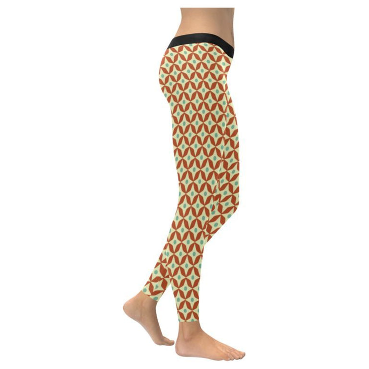 Retro Low Rise Leggings (Invisible Stitch)