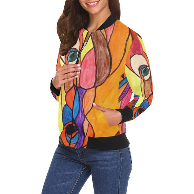 Magic Horse Bomber Jacket