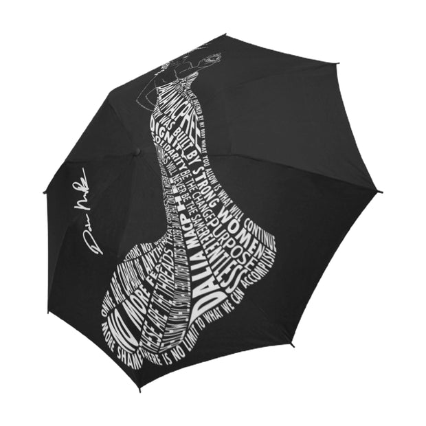 New Day on the horizon. Semi- Automatic Foldable Umbrella- Signed