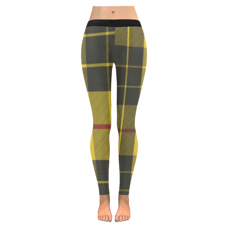 Tartan Low Rise Leggings