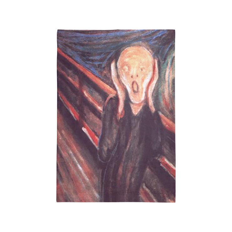 The Scream Face Covering