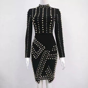 Knit Studded dress