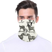 Equestrian Design Face Covering