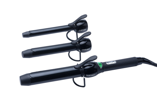 TRIO Clipped Curling Iron w/ Cool Tips - UK/EU Plug