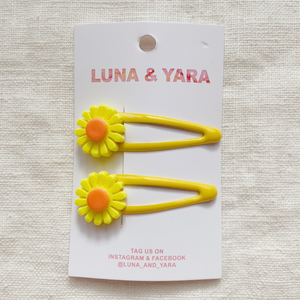 NIMI BARRETTE Yellow
