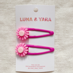 NIMI BARRETTE Hot Pink