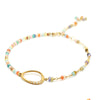 Flow Gemstone Diamond Bracelet