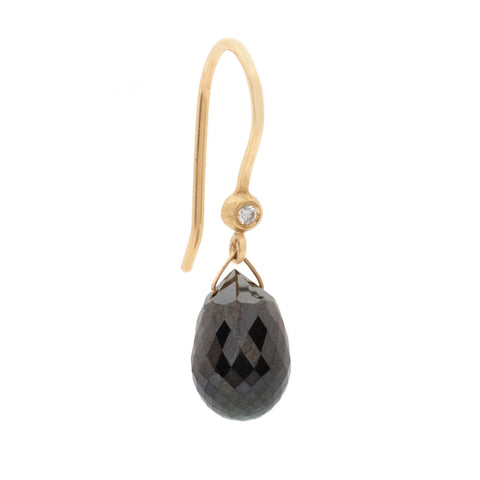 One of a Kind Black Diamond Brio Earrings