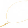 Crescent Flow Tassle Necklace