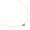 Fresh Stardust Emerald Necklace