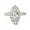 Lillian Navette Engagement Ring