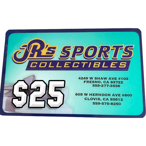 JR'S SPORTS GIFT CARD