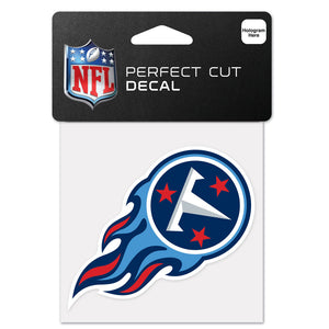 "TENNESSEE TITANS PERFECT CUT 4""X 4"" DECAL"