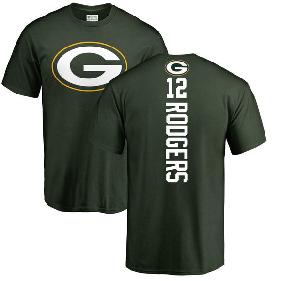 AARON RODGERS MEN'S PLAYMAKER NAME NUMBER T-SHIRT
