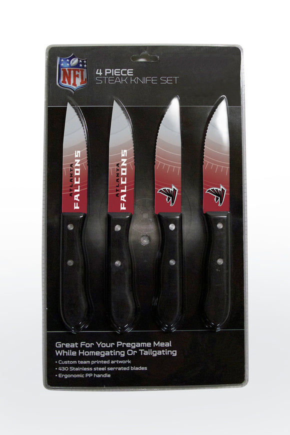 ATLANTA FALCONS 4PK KNIFE SET