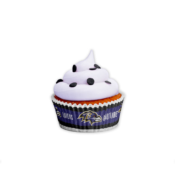 BALTIMORE RAVENS BAKING CUPS