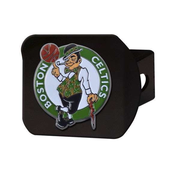 BOSTON CELTICS BLACK LOGO HITCH
