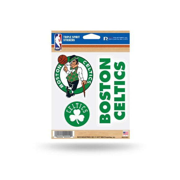 BOSTON CELTICS TRIPLE SPIRIT DECAL
