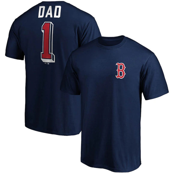 BOSTON RED SOX MEN'S FATHERS DAY T-SHIRT