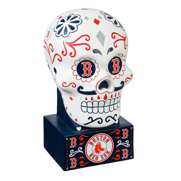 BOSTON RED SOX SUGAR SKULL HEAD