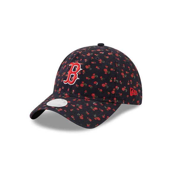 BOSTON RED SOX WOMEN'S FLORAL 9TWENTY ADJUSTABLE