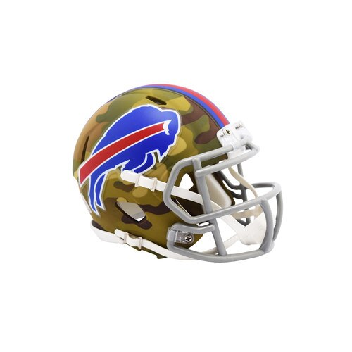 BUFFALO BILLS CAMO MINI SPEED HELMET