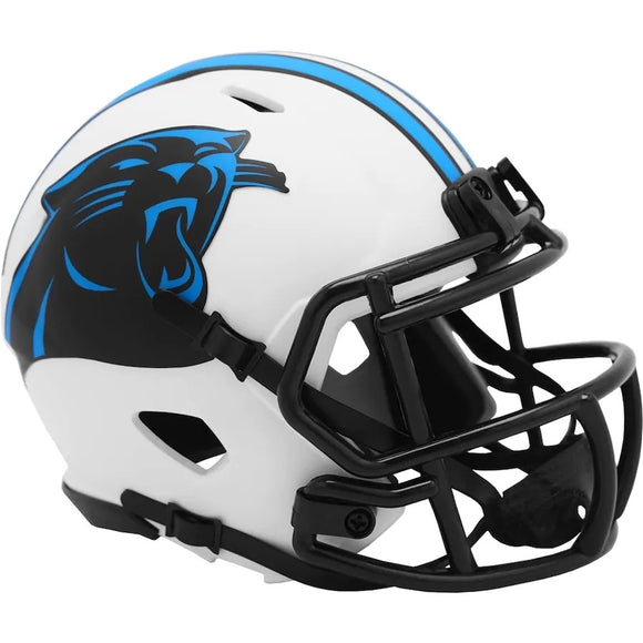 CAROLINA PANTHERS LUNAR MINI SPEED HELMET